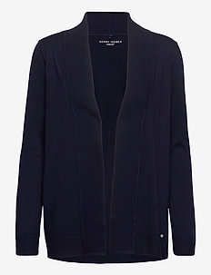JACKET KNIT FABRICS - koftor - dark navy