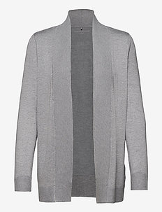 JACKET KNIT FABRICS - koftor - light  grey