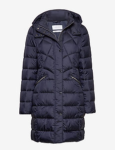 OUTDOOR JACKET NO WO - NAVY BLUE