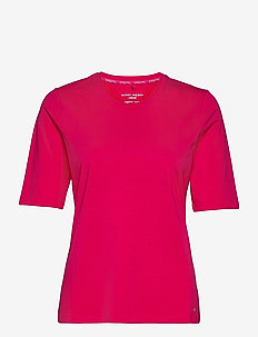 T-SHIRT 3/4-SLEEVE R - t-shirts - rasberry