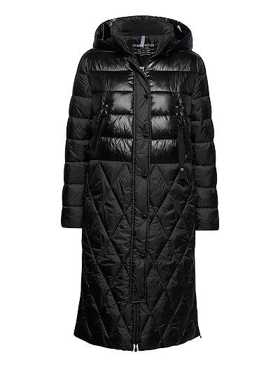 Coat Not Wool Gefütterter Mantel Schwarz GERRY WEBER EDITION