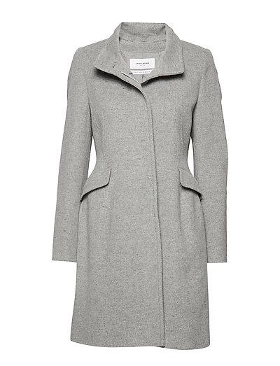 Coat Wool Wollmantel Mantel Grau GERRY WEBER EDITION