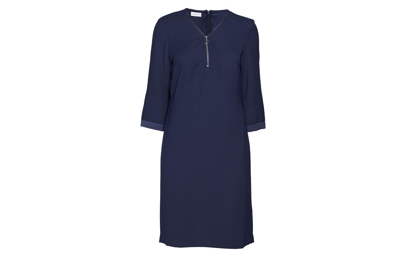 Gerry Polyester Woven Dark Weber Dress 100 Fabric Navy xwZHRxqC