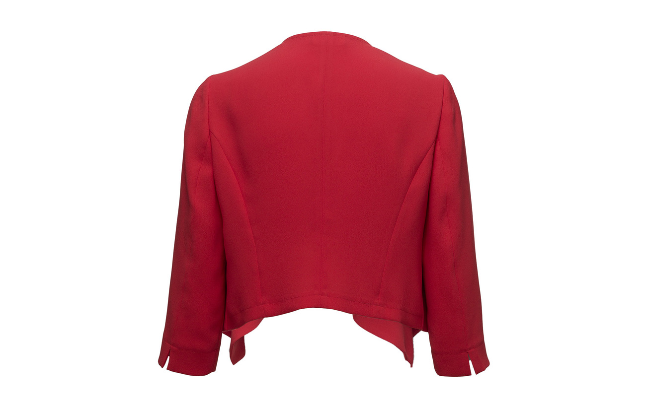 Blazer Polyester Gerry Weber Cardigan Red 100 Yxq0qwn