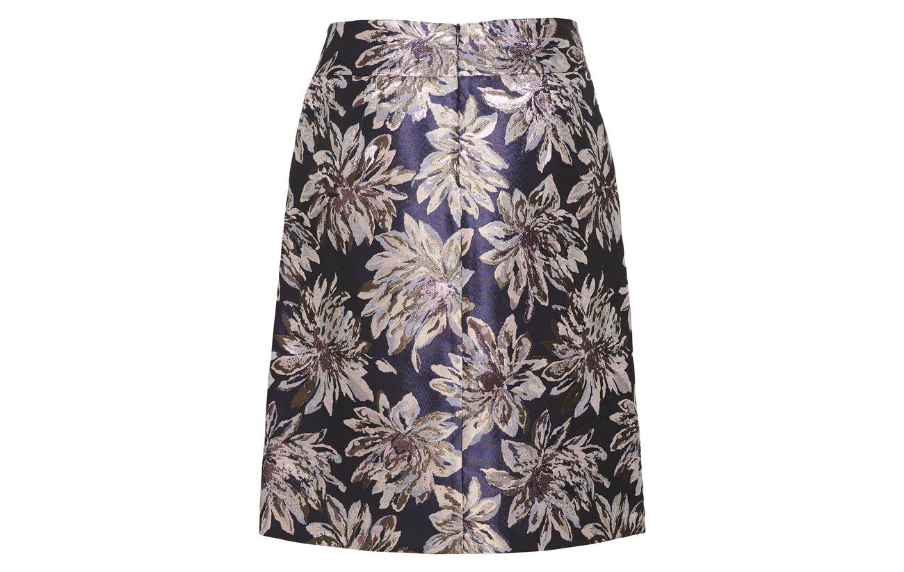 Knitwear Gerry Mpes Blue black 12 Skirt Weber Polyester 88 Figured ZSzxOZEqn