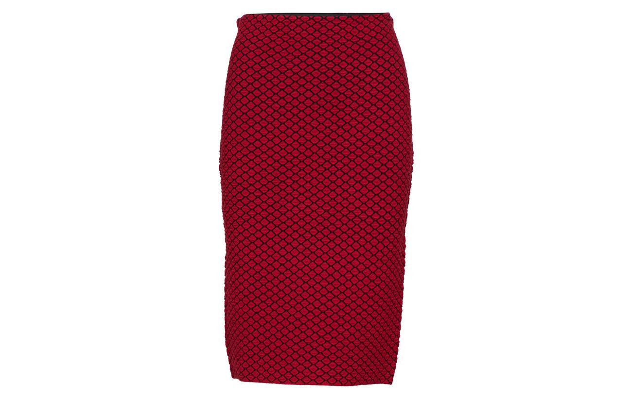 54 Skirt Chili Polyamide Weber Gerry Polyester 25 Black Patterned Knitwear 21 Viscose OpfBx6qw