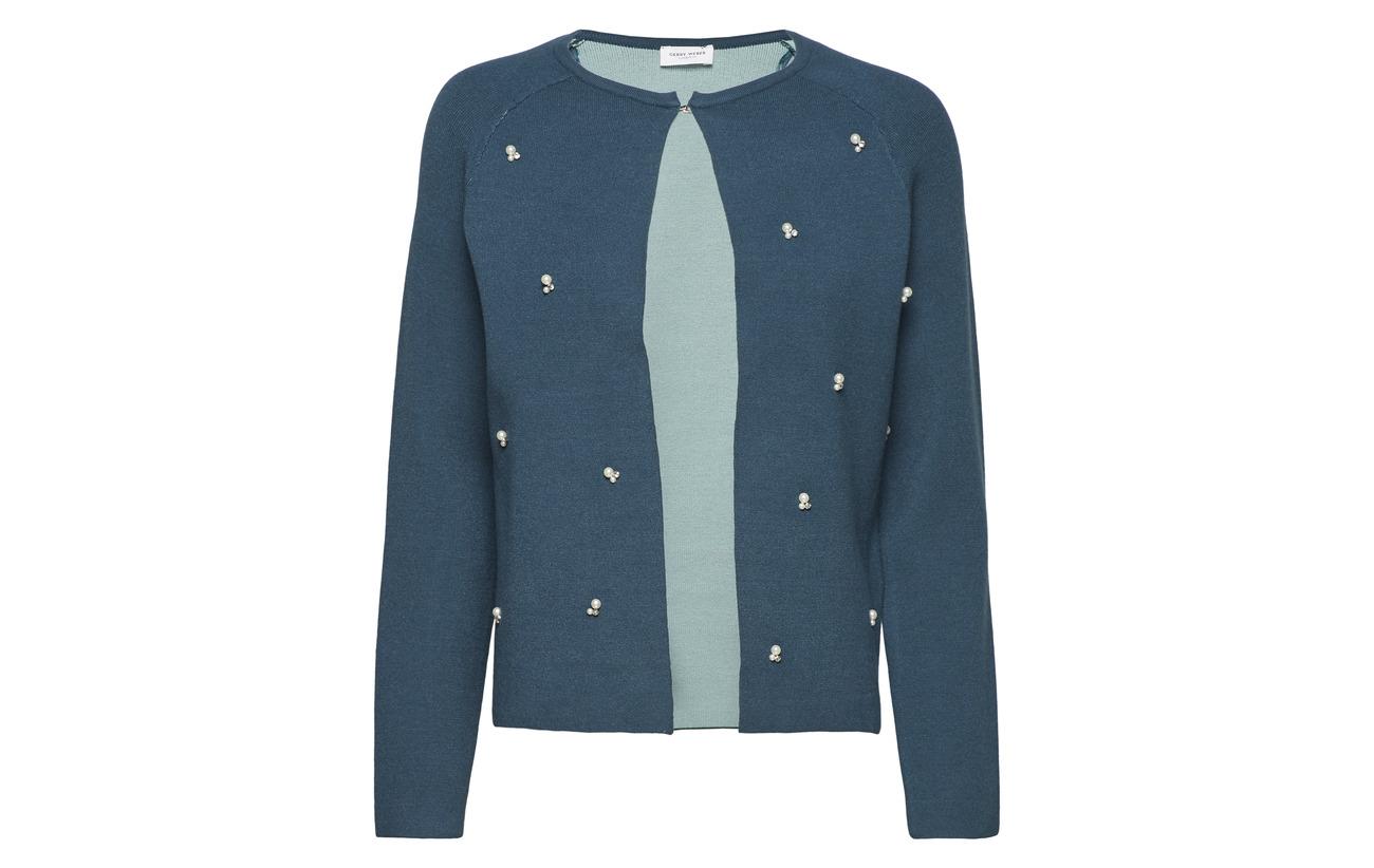 21 52 Weber Acrylique Knitwear Gerry Viscose 27 Jade Petrol Polyester Jacket zvxXnXF