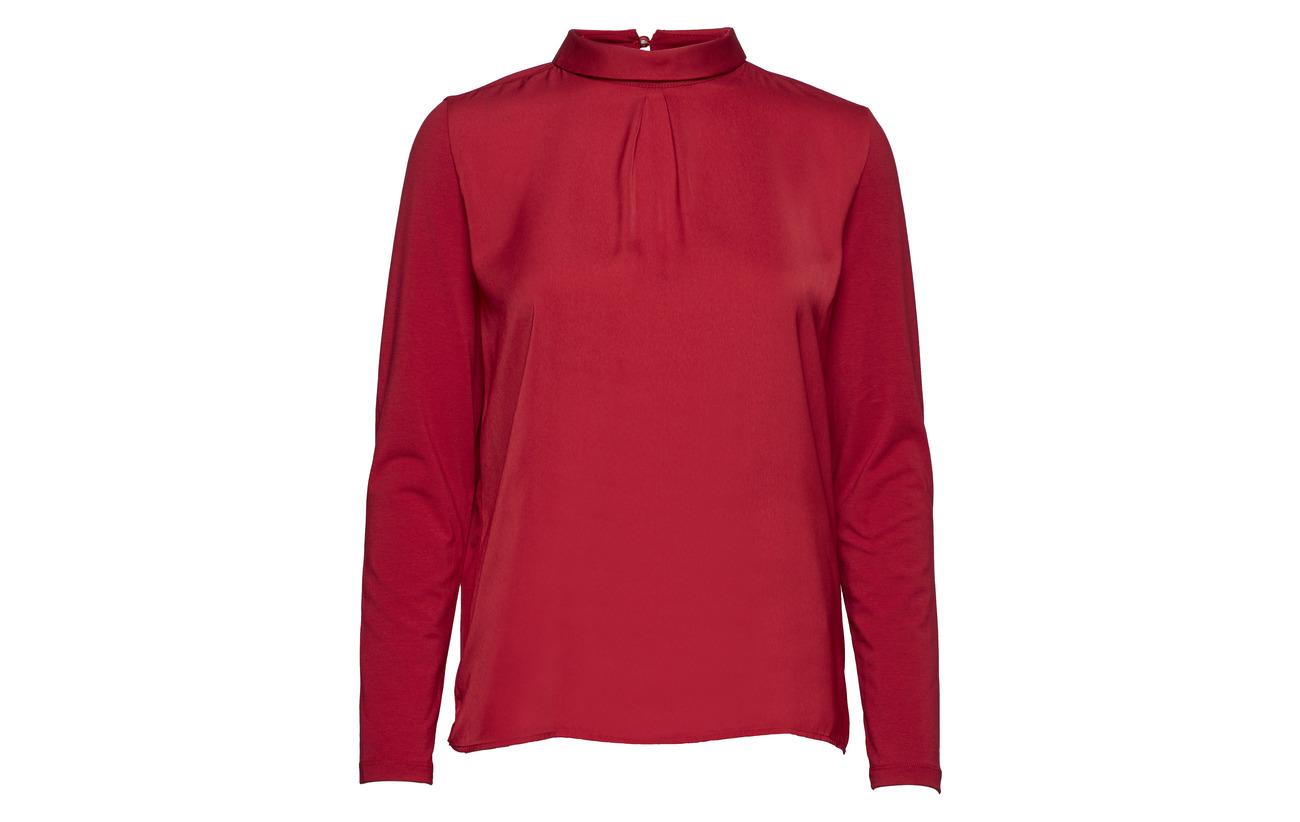 47 6 Elastane Coton T sleeve shirt Gerry Modale Weber Merlot Long Pq4HHw