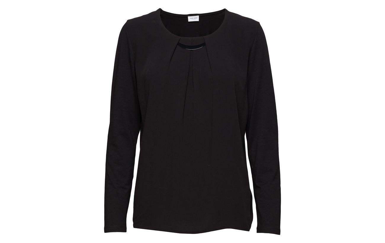 T Weber Gerry shirt Modale 6 47 Coton sleeve Elastane Long Purple w5UqrCUd