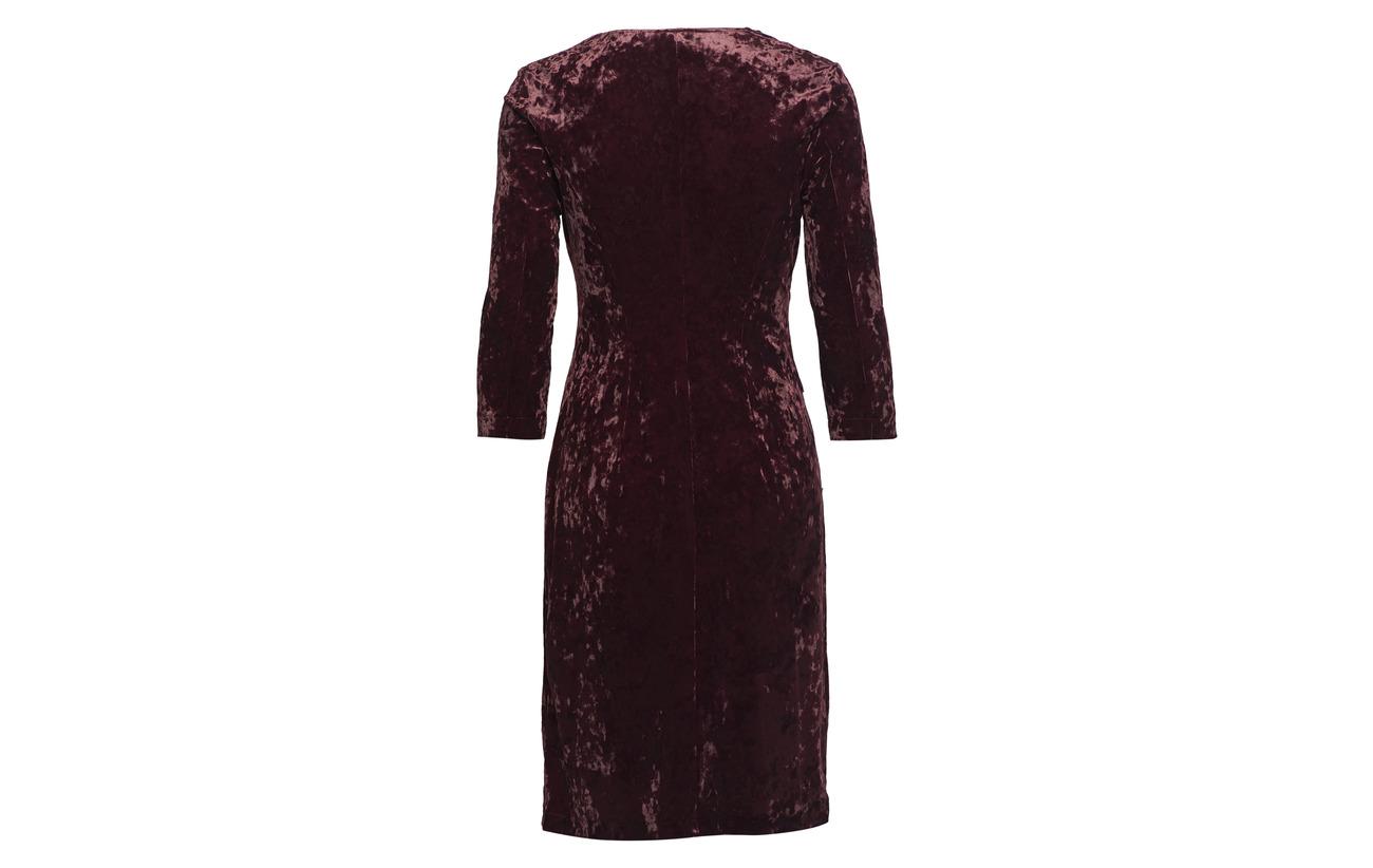 10 Gerry Elastane Merlot Dress Weber 90 Woven Polyester Fabric nFpUz0Fwr