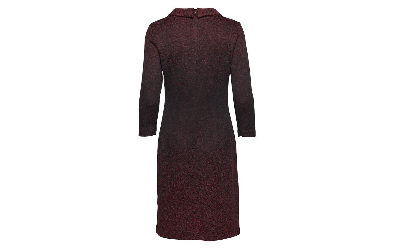 47 Elastane Red Dress Black 1 Weber 45 Gerry Coton Acrylique Fabric Woven Polyester Bordeaux 7 wZx0C64q