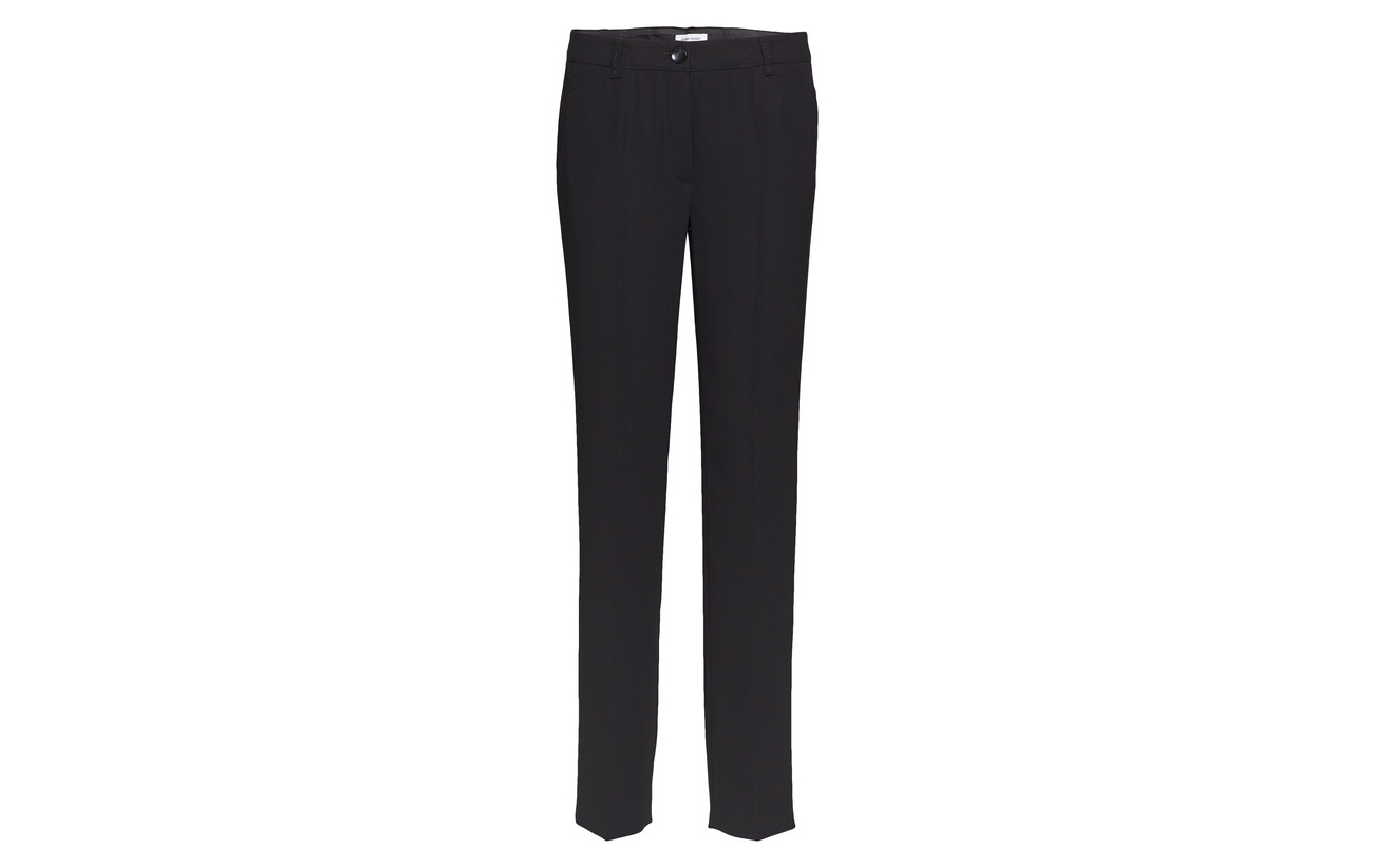 Black Polyester 100 Speci Gerry Weber Cloth Trousers Ixwzgv