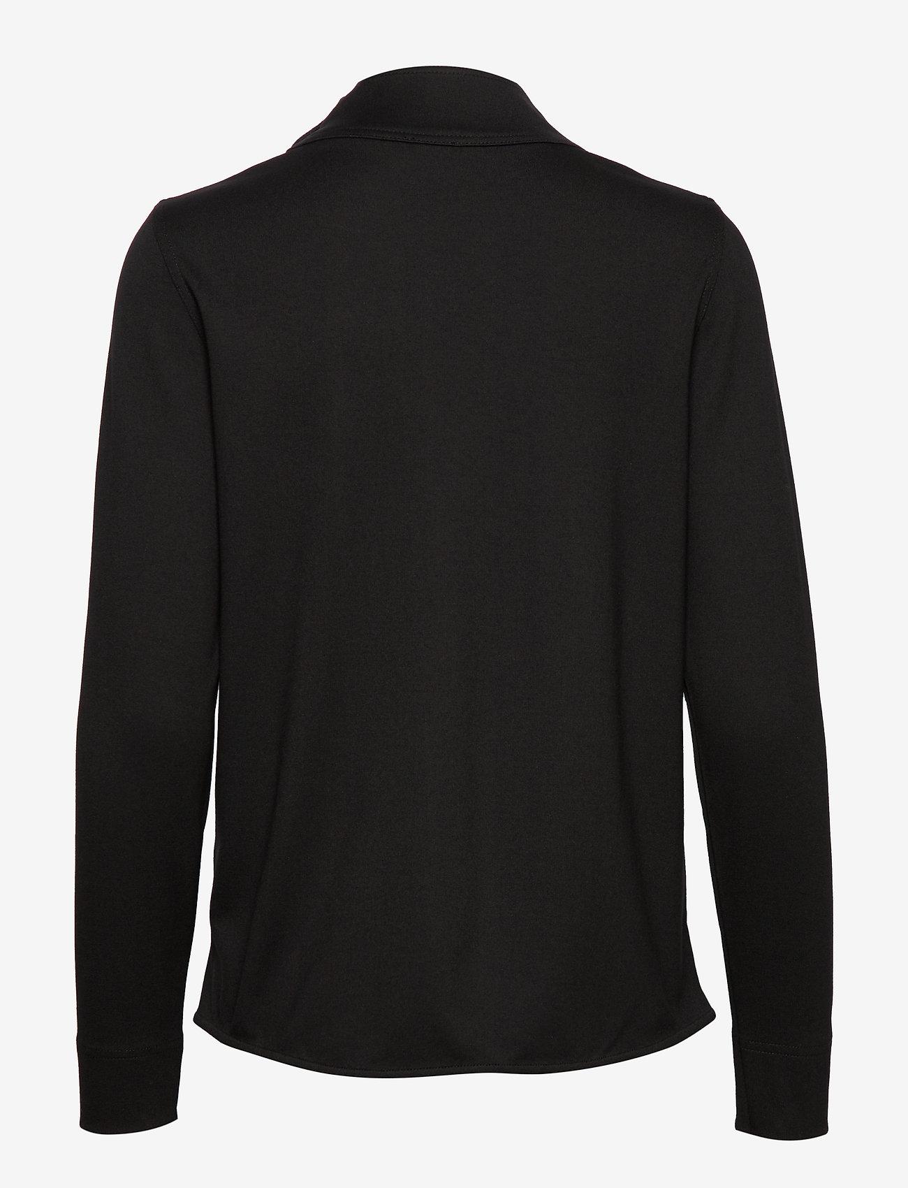 Gerry Weber T-SHIRT LONG-SLEEVE - T-shirty i zopy BLACK - Kobiety Odzież.