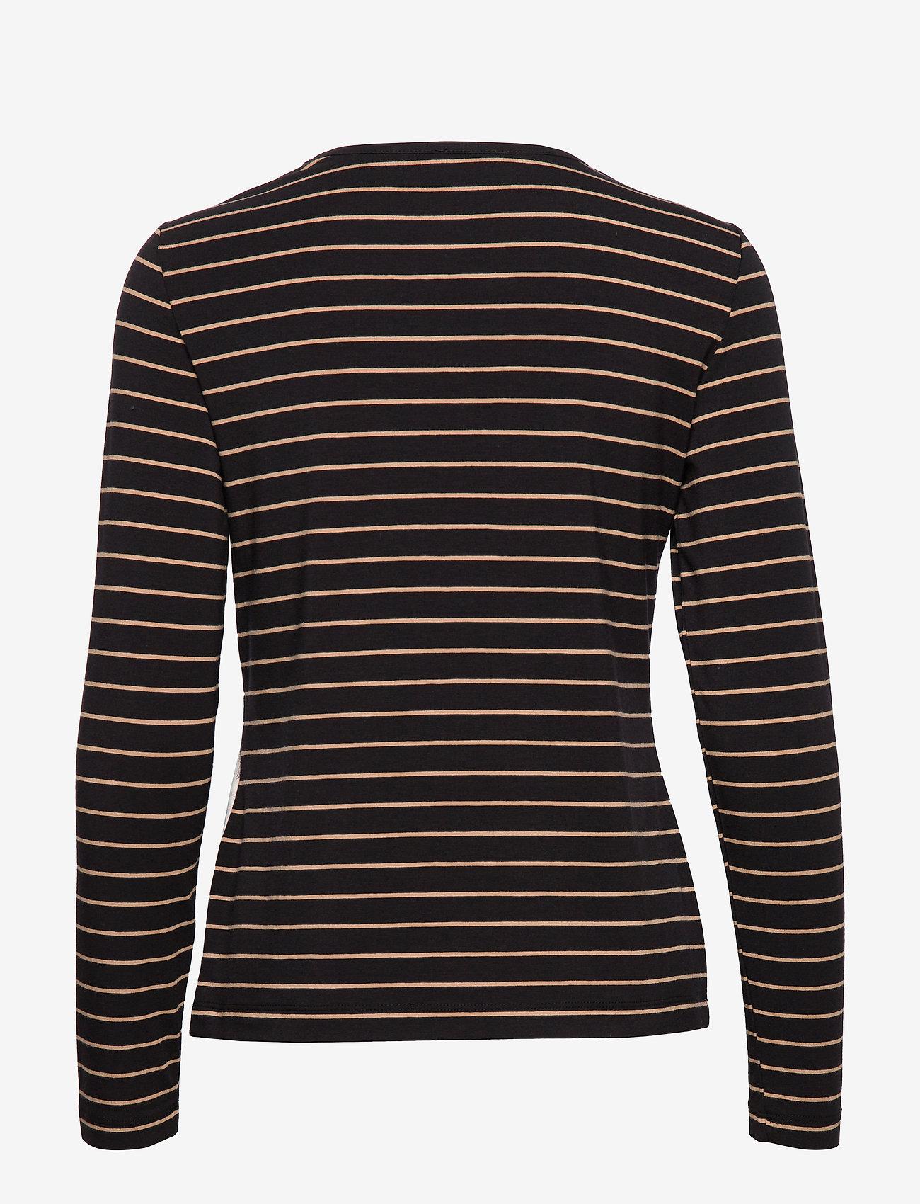 T-shirt Long-sleeve (Oat/ Toffee/ Camel Print) (419.40 kr) - Gerry Weber