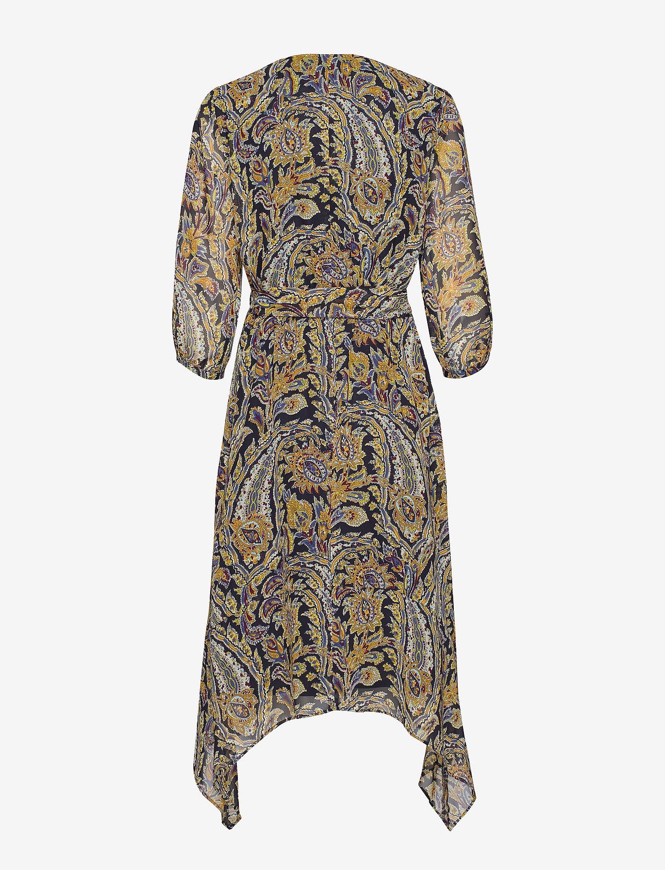 Dress Woven Fabric (Blue Multicolor Print) (1049.40 kr) - Gerry Weber
