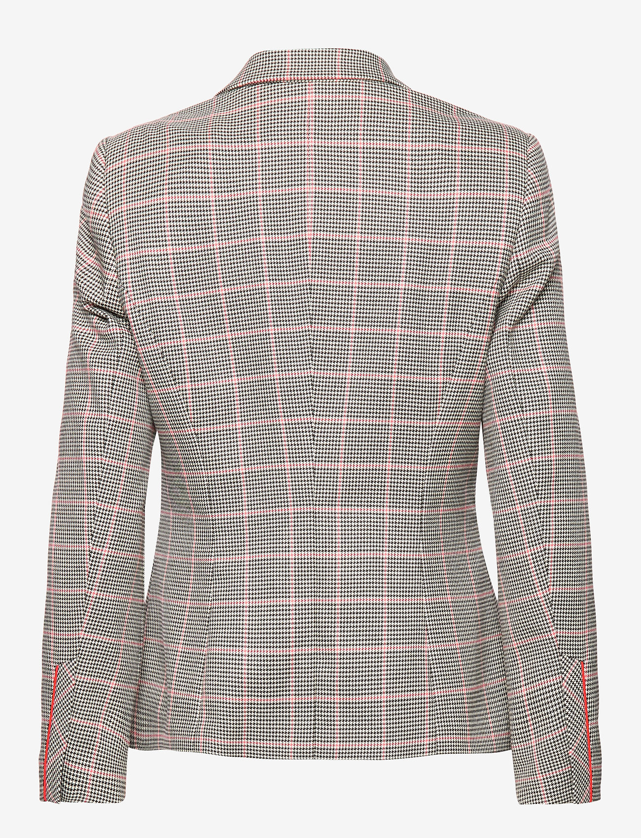 Blazer Long-sleeve (Blackoffwhitespicedcoral Check) (1299.35 kr) - Gerry Weber