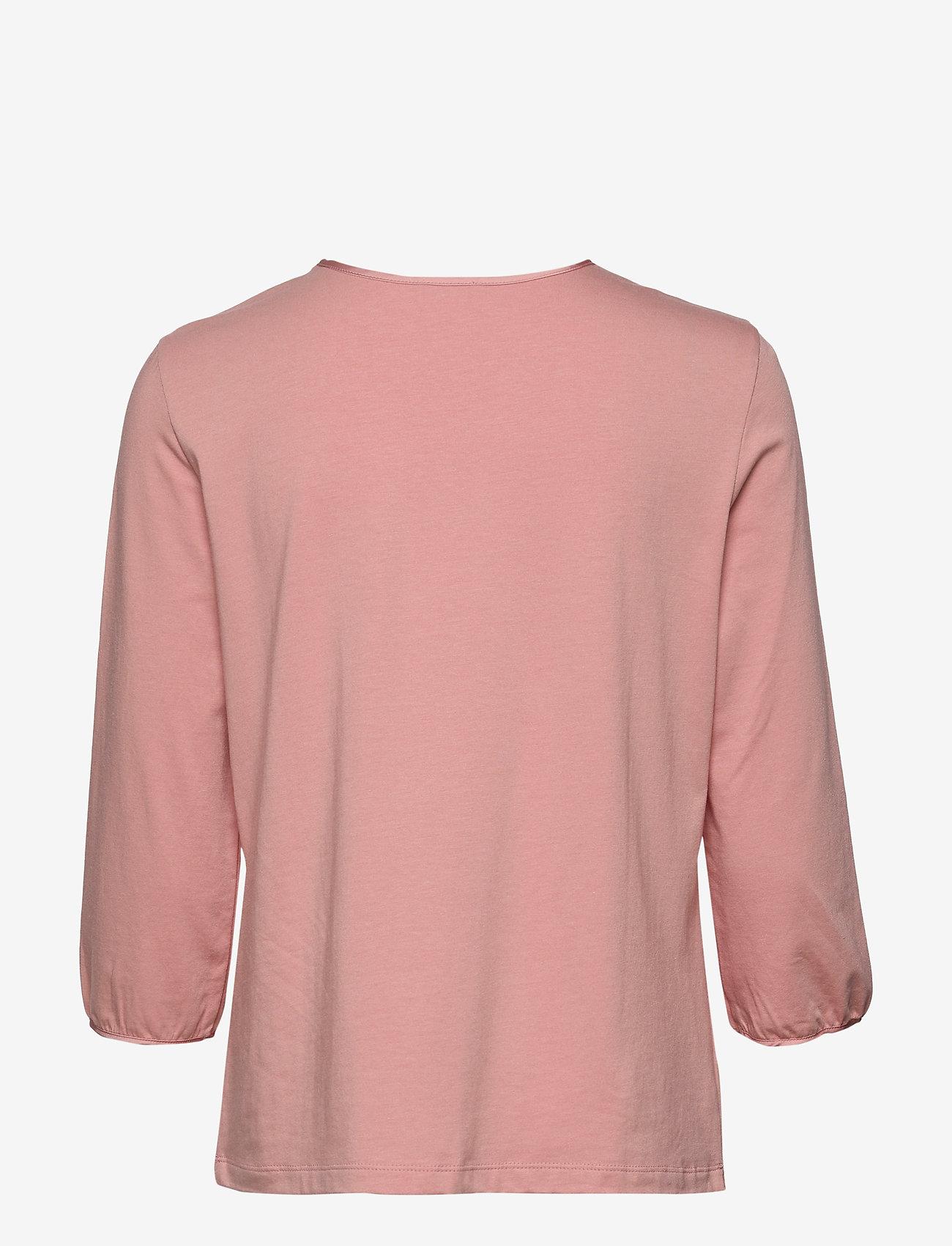 Gerry Weber T-SHIRT 3/4-SLEEVE R - T-shirty i zopy DUSTY PINK - Kobiety Odzież.