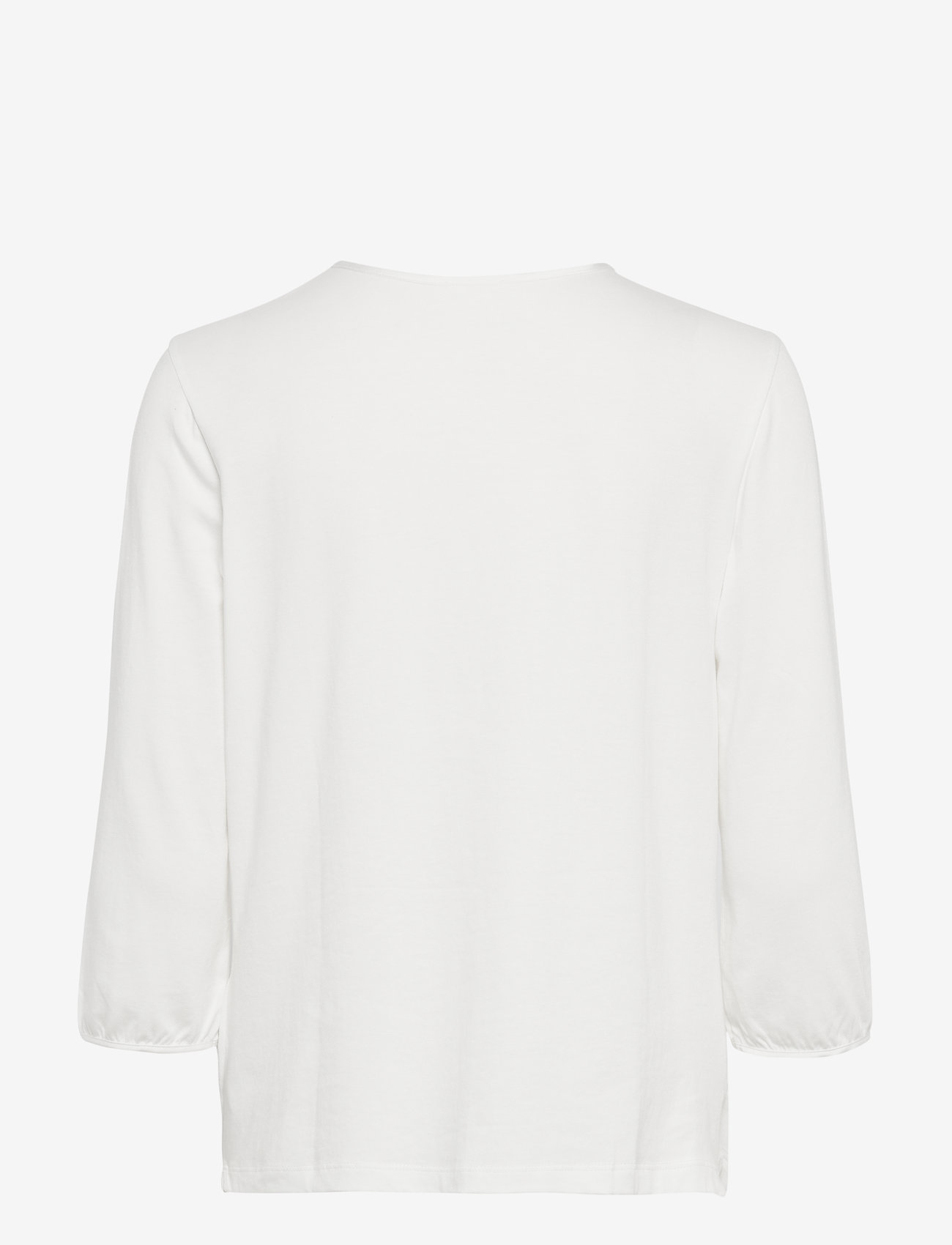 Gerry Weber T-SHIRT 3/4-SLEEVE R - T-shirty i zopy OFF-WHITE - Kobiety Odzież.