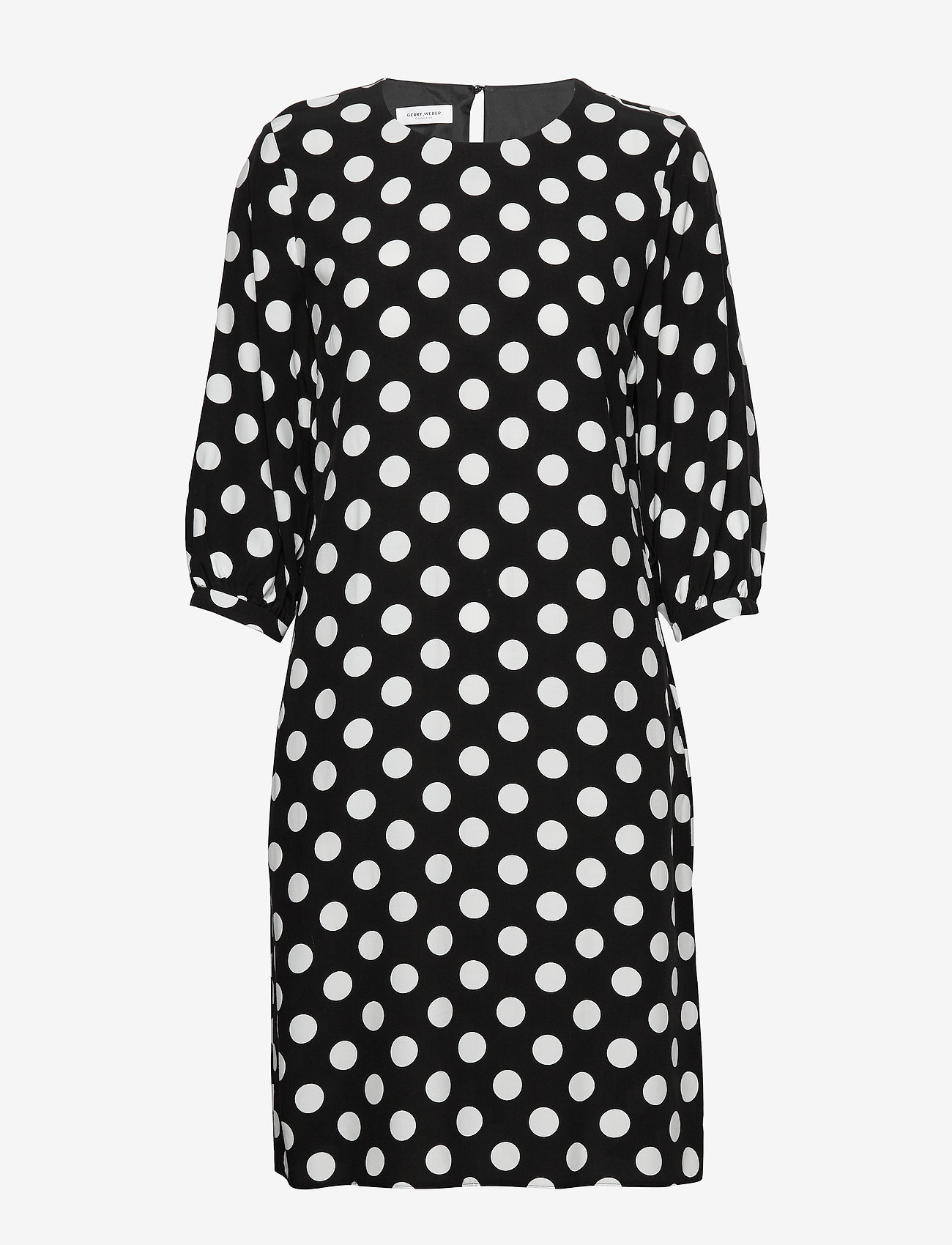 Dress Woven Fabric (Black/ecru/white Print) - Gerry Weber RCC0NF