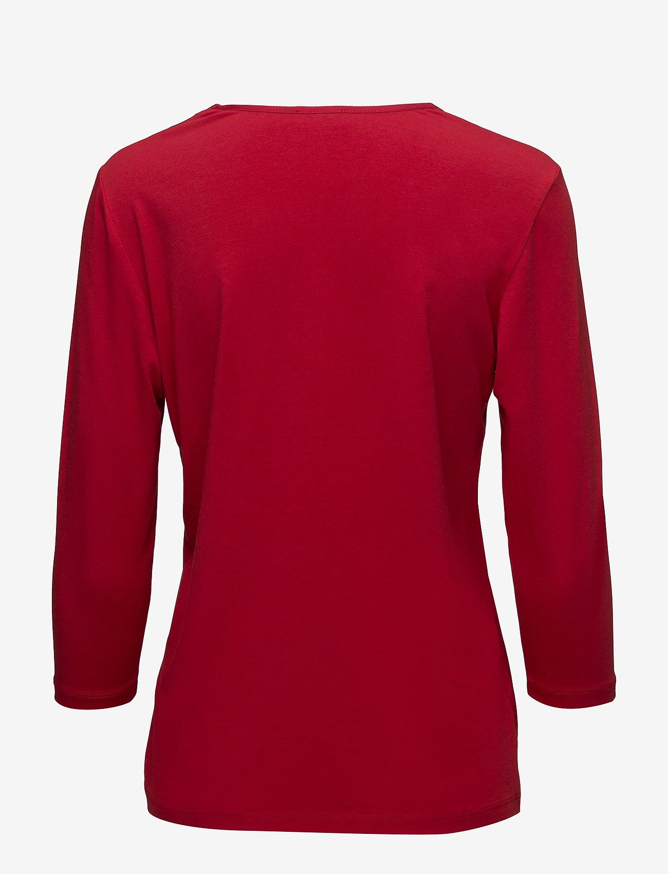 T-shirt 3/4-sleeve R (Red) (419.40 kr) - Gerry Weber