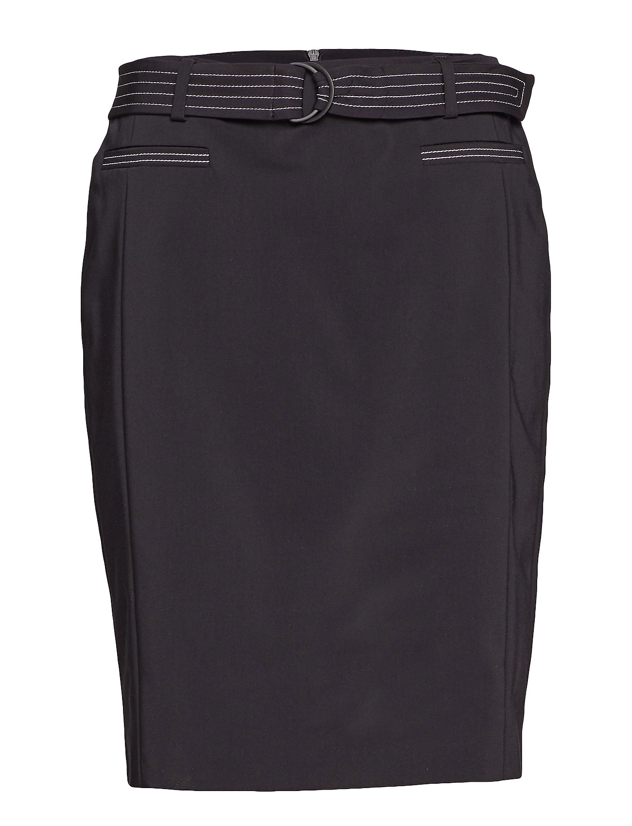 Gerry Weber SKIRT SHORT WOVEN FA - BLACK