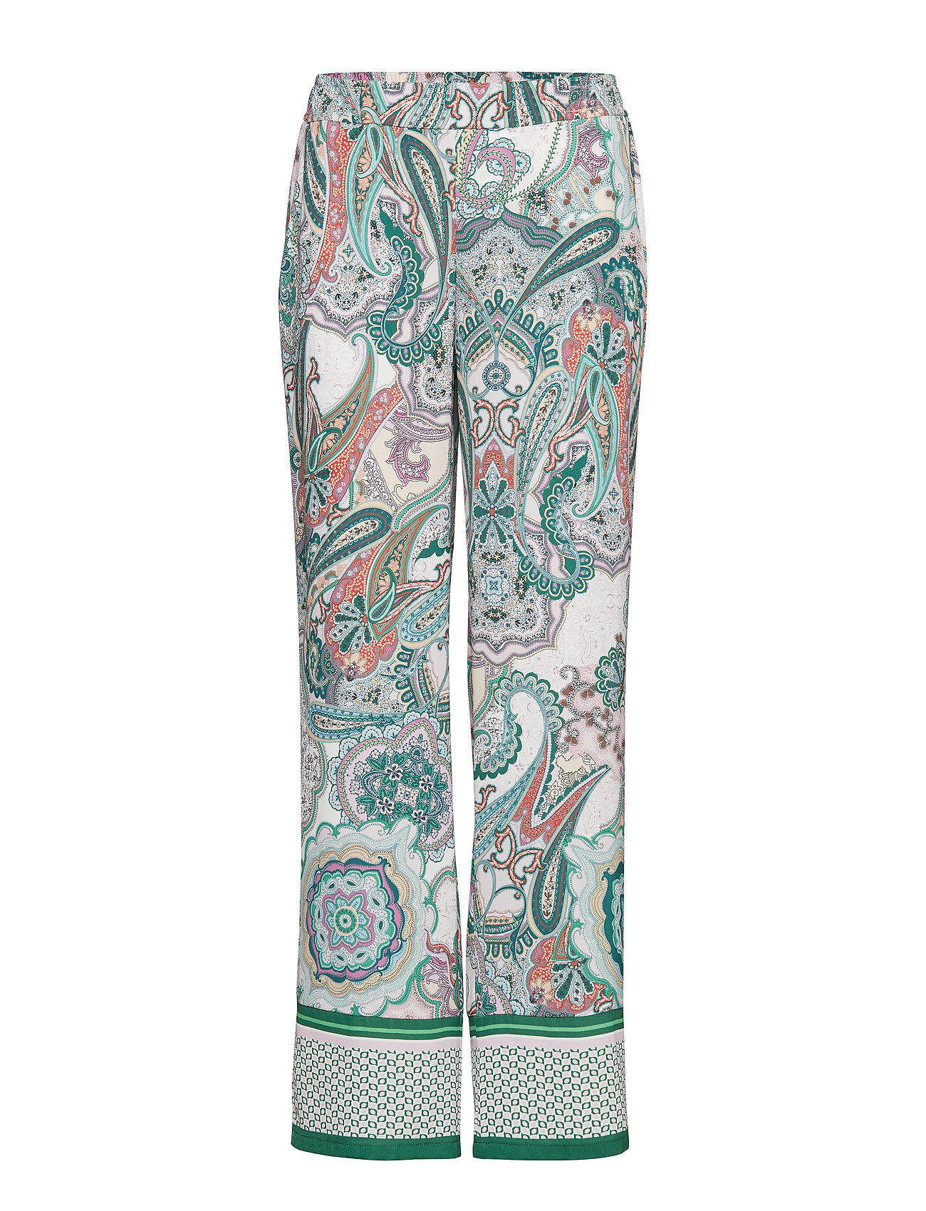 Gerry Weber LEISURE TROUSERS LON - LILAC/PINK/GREEN PRINT