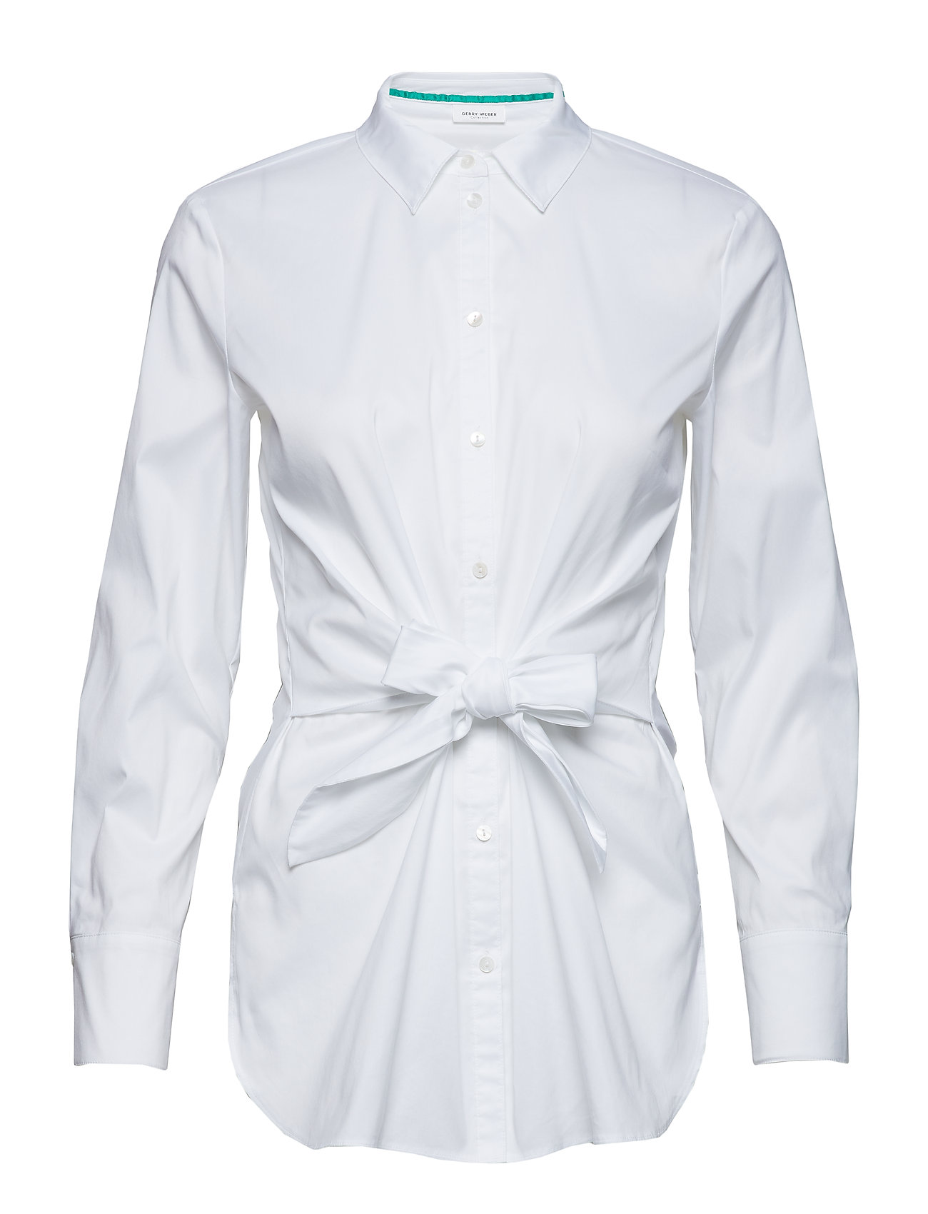 Gerry Weber BLOUSE LONG-SLEEVE - WHITE/WHITE