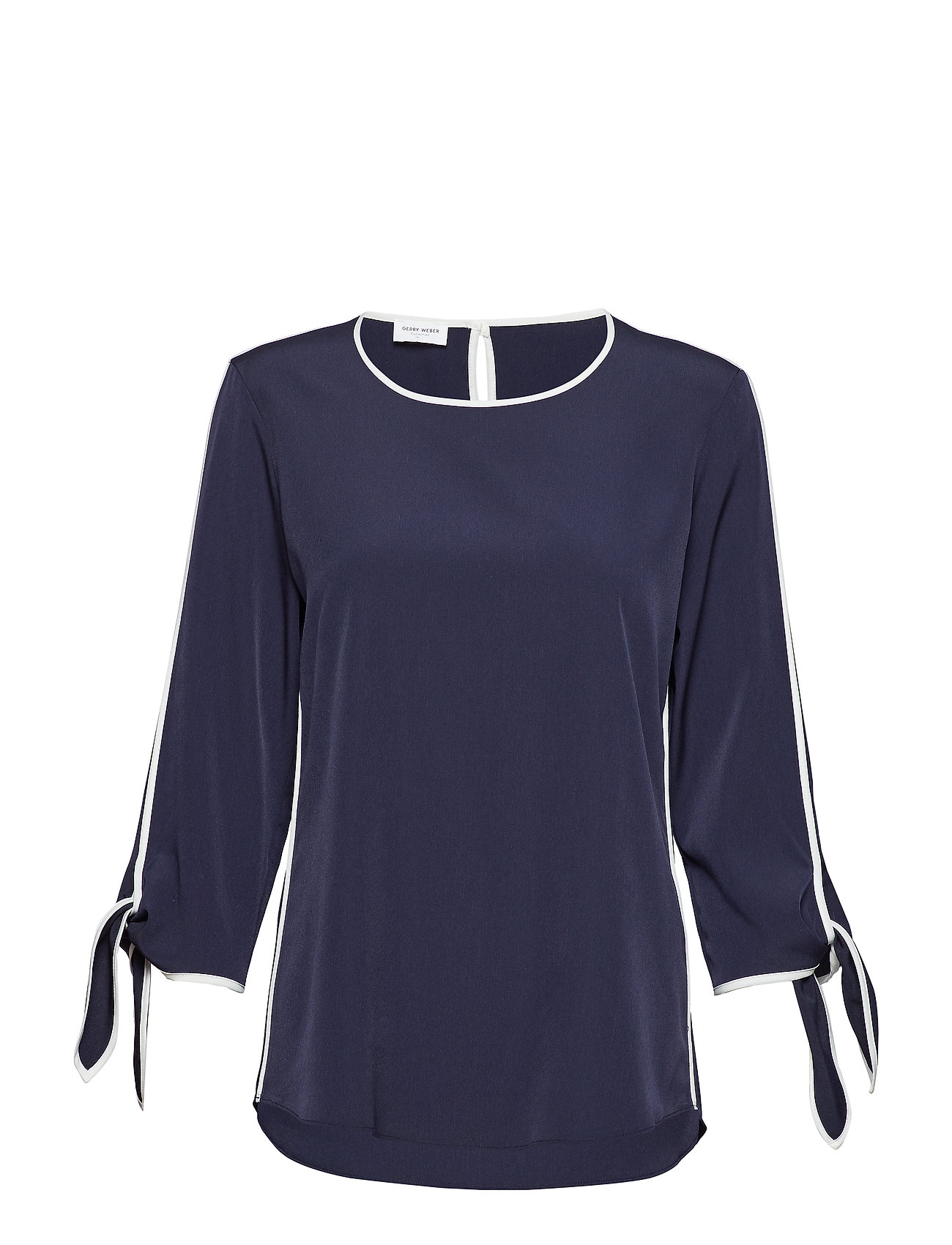 Gerry Weber BLOUSE 3/4-SLEEVE - BLUE/ECRU/WHITE PATCH