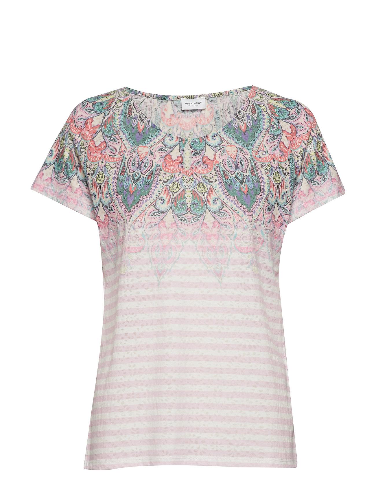 Image of T-Shirt Short-Sleeve T-shirt Top Multi/mønstret Gerry Weber (3158635827)