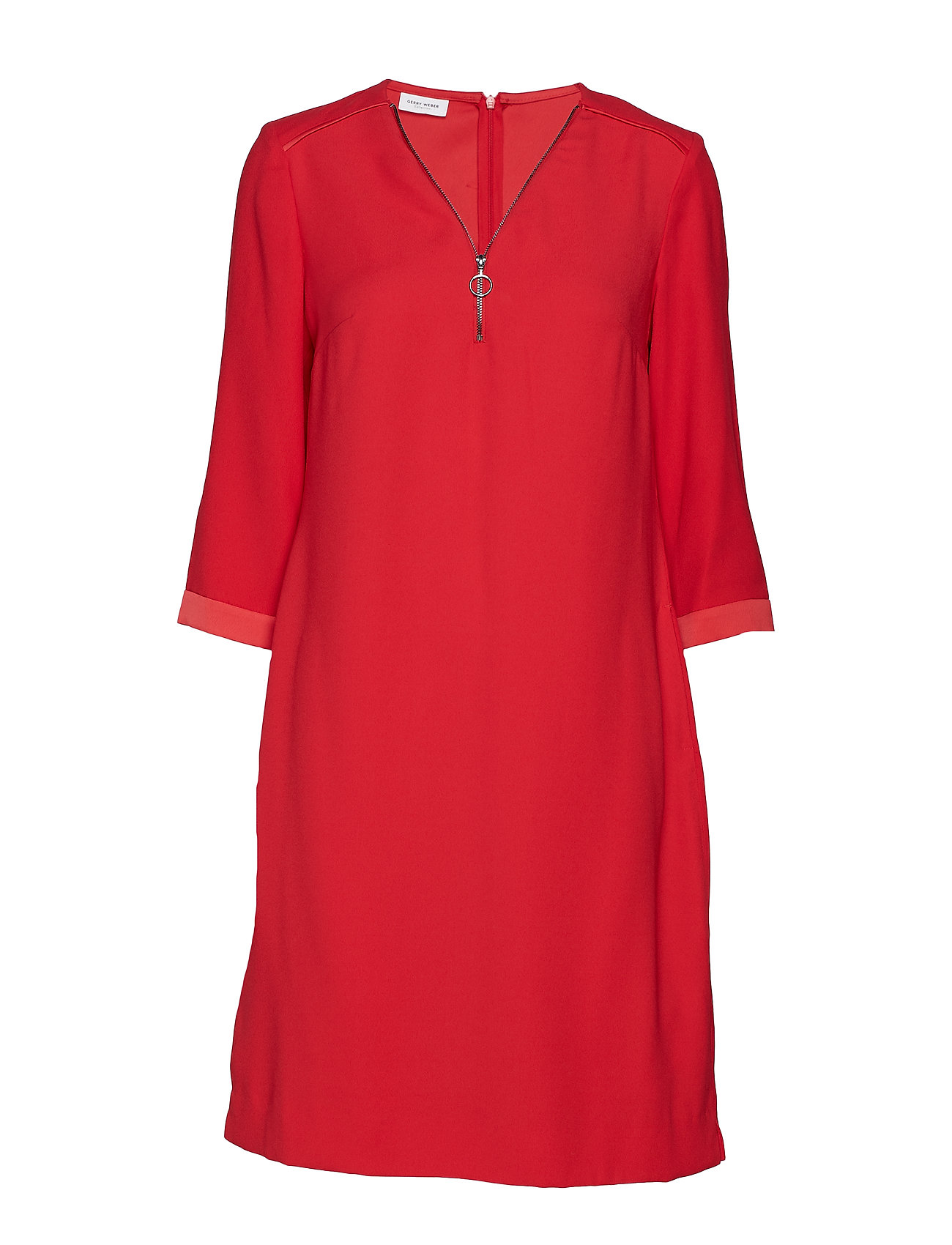 Gerry Weber DRESS WOVEN FABRIC - CHERRY