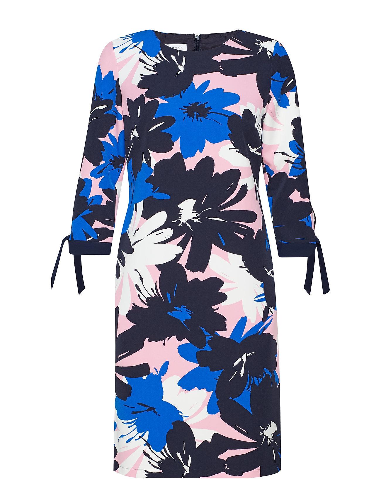 Gerry Weber DRESS WOVEN FABRIC - BLUE/ CANDY/ WHITE