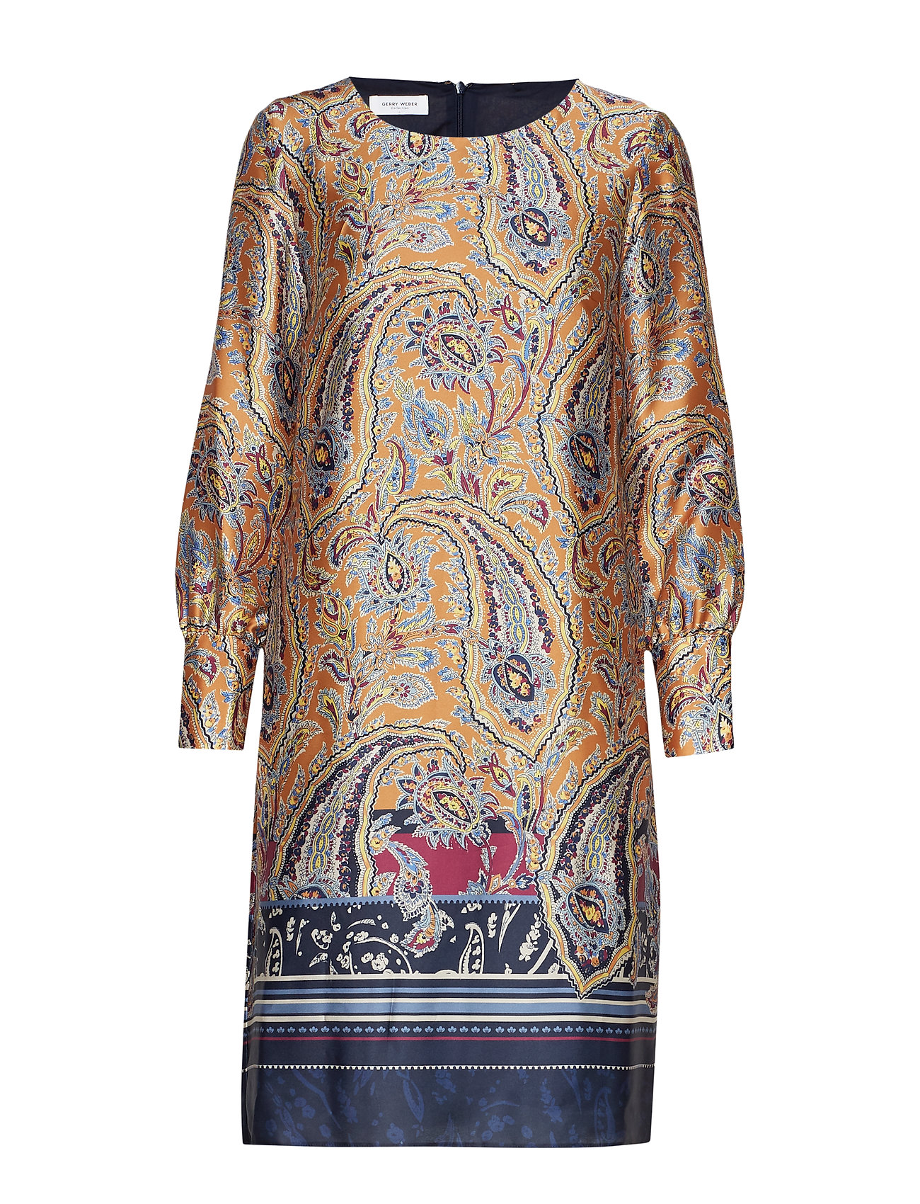 Gerry Weber DRESS WOVEN FABRIC - YELLOW MULTICOLOR PRINT