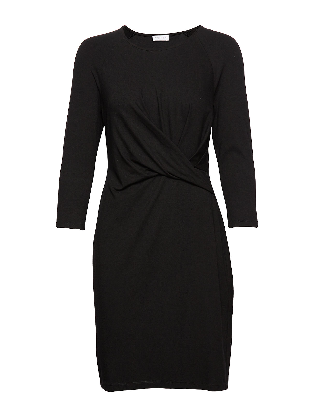Gerry Weber DRESS KNITTED FABRIC - BLACK
