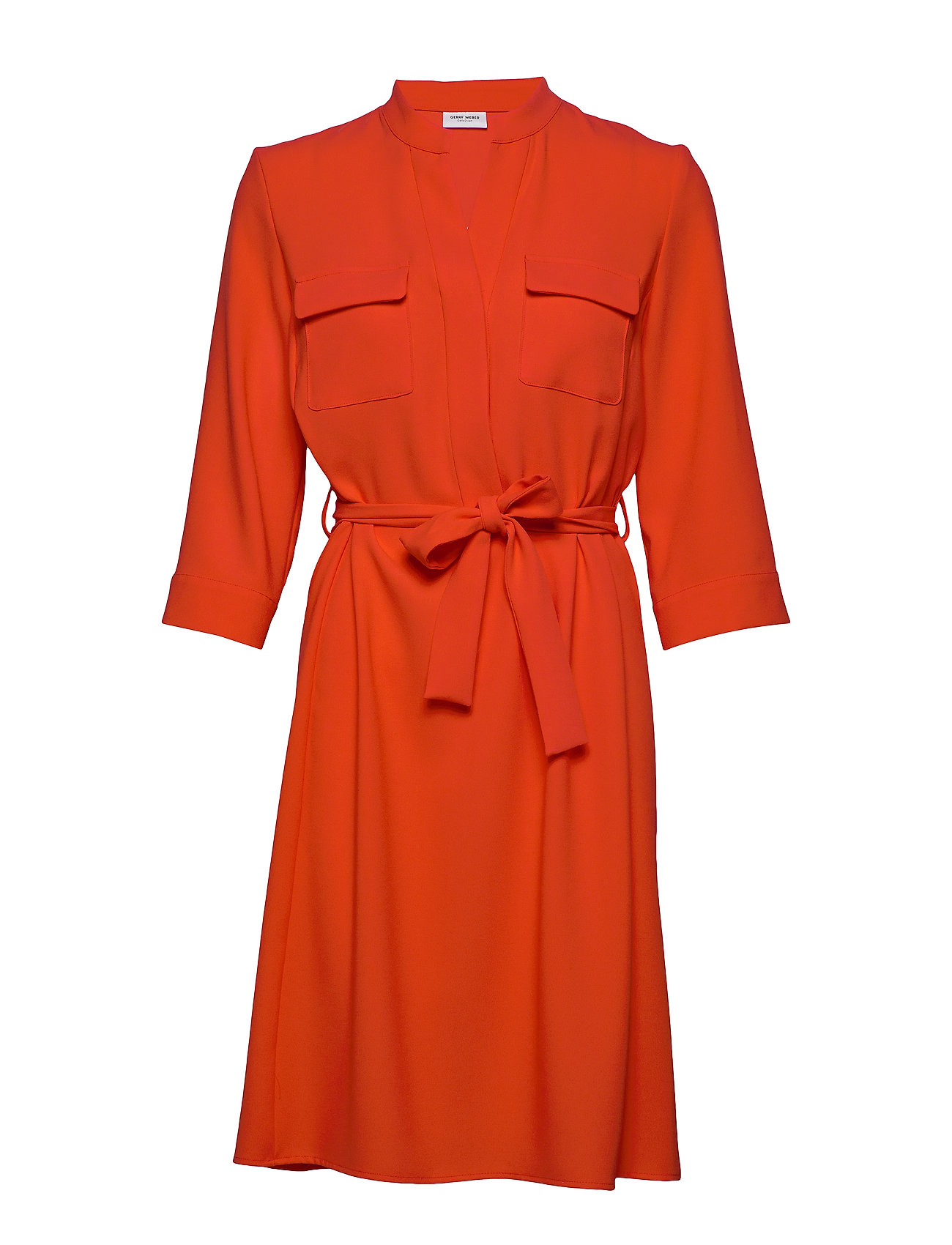 Gerry Weber DRESS WOVEN FABRIC - RED ORANGE