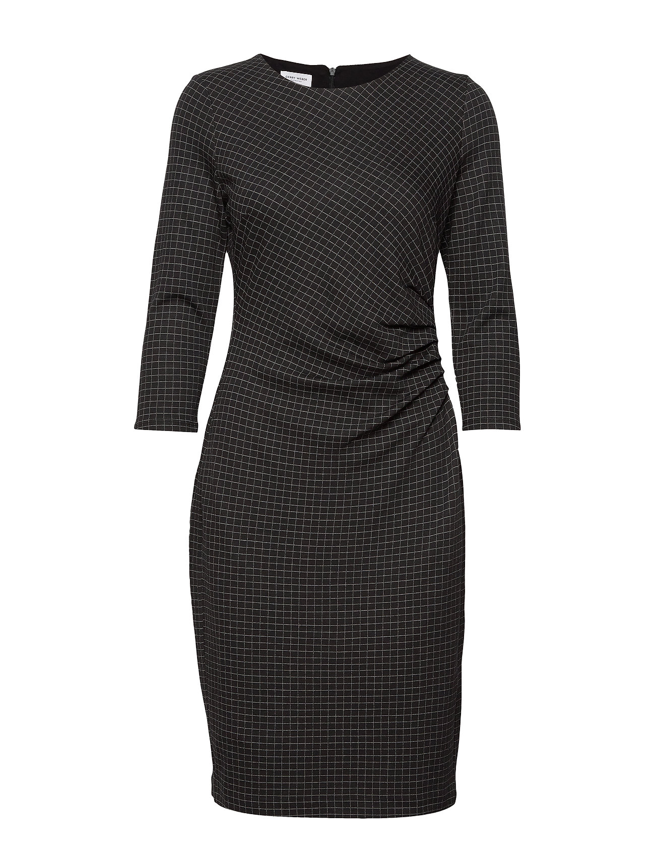 Gerry Weber DRESS KNITTED FABRIC - BLACK/ MARZIPAN