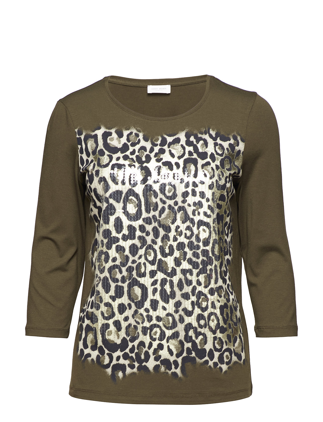 Image of T-Shirt 3/4-Sleeve R Langærmet T-shirt Multi/mønstret GERRY WEBER (3067487305)