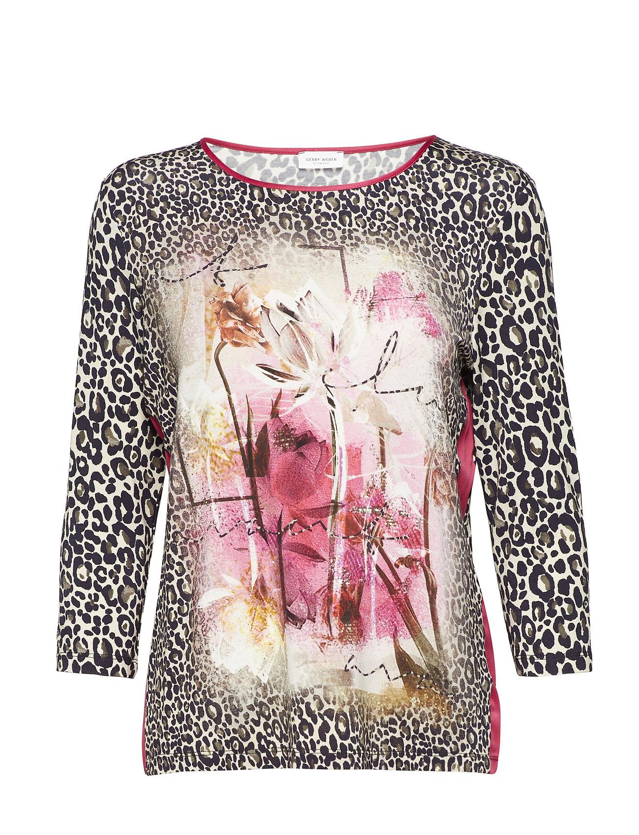 Image of T-Shirt 3/4-Sleeve R Langærmet T-shirt Multi/mønstret GERRY WEBER (3067487311)
