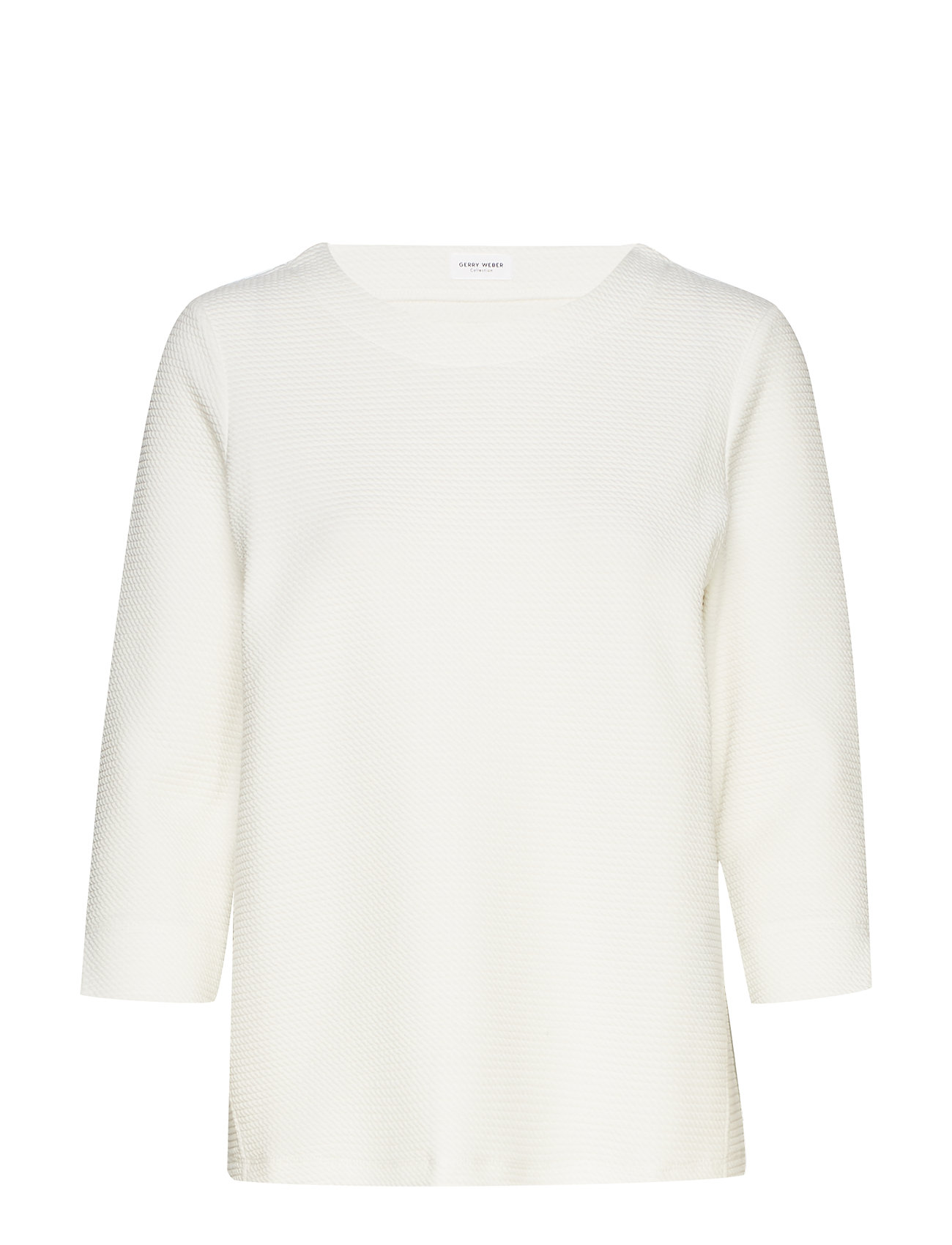 Gerry Weber SWEAT-SHIRT SHORT-SL - OFF-WHITE