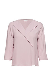 BLOUSE 3/4-SLEEVE - LILAC