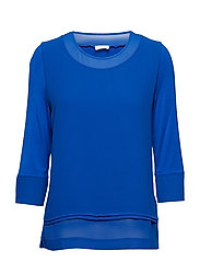 T-SHIRT 3/4-SLEEVE R - BLUE