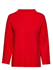 PULLOVER 3/4-SLEEVE - FIERY RED