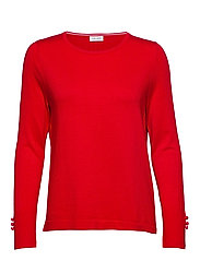 PULLOVER LONG-SLEEVE - FIERY RED
