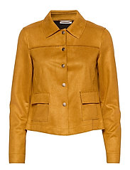 BLAZER LONG-SLEEVE - HONEY