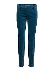 LEISURE TROUSERS LON - TEAL