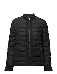 OUTDOOR JACKET NO WO - BLACK