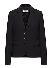 BLAZER LONG-SLEEVE - BLACK