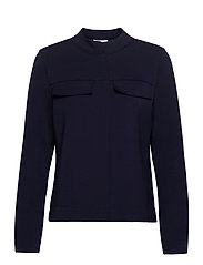 BLOUSE-JACKET - DARK NAVY