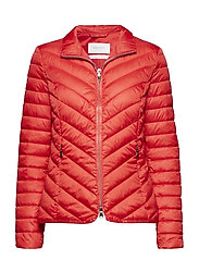 OUTDOOR JACKET NO WO - RED