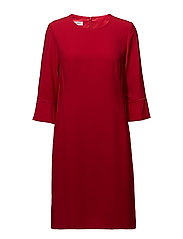DRESS WOVEN FABRIC - RED