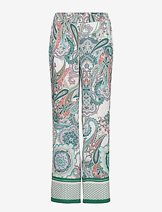 LEISURE TROUSERS LON - LILAC/PINK/GREEN PRINT